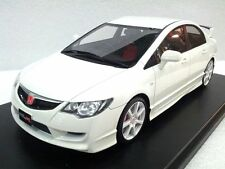1:18 Onemodel Honda CIVIC Type R FD2 Championship White Resin