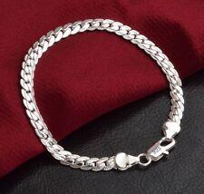Edles Design 925 Sterling Silber Armband Armkette Panzerkette Hochglanz Neu´´
