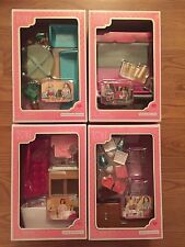 "OUR GENERATION LORI COMPLETE SET NEW FURNITURE FOR MINI AMERICAN GIRL 6"" DOLL"