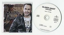 Oliver Haidt - cd-PROMO - MARLEEN © 2014 - German-2-Track-CD - incl. Party-Mix