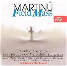 Martinu: Field Mass/Double Concerto/Les Freques de Piero della, New Music