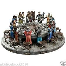 KING Arthur & the Knights of the Round Table Sculpture Medieval Home Decor