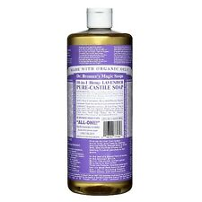 Dr. Bronners Magic Soaps 18-in-1 Hemp Lavender Pure-Castile Soap 32 fl oz