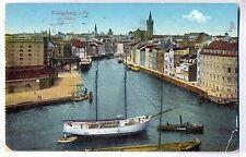 O 189 - Königsberg - Hafen, 1916 als Feldpost gelaufen
