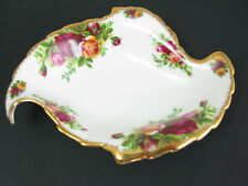 ROYAL ALBERT OLD COUNTRY ROSES LEAF SHAPED DISH -1st QUALITY- NUTS/BON BON etc