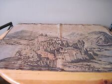 Vintage Wall Tapestry Belgium Old Country Old Country Village Home Decor