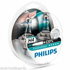 Philips X-treme Vision +130% Headlight Bulbs H4 12V 60/55W xtreme extreme (Pair)