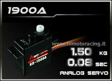 MINI SERVO COMANDO ANALOGICO POWER HD DA 1,50 kg 0,08 sec HIGH SPEED HD-1900A