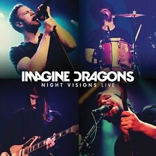 IMAGINE DRAGONS - NIGHT VISIONS LIVE  CD + DVD NEU