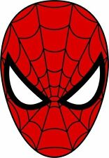 Spiderman Mask Face Spider Man Sticker Decal Graphic Vinyl Label