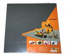 """Generic Gray 50x50 building baseplate, cover 15x15"""" area base plate + 1 lego PC"""