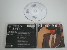 ELTON JOHN/BREAKING HEARTS(THE ROCKET RECORD COMPANY 822 088-2) CD ALBUM