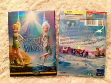 Secret of the Wings DVD, A Tinker Bell Disney Fairies,Brand New, Free Shipping