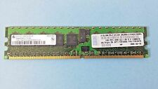 1 IBM 1GB DDR SDRAM PC Memory Card 1RX4 PC2-3200R-333-11-HD CL3 1.8V DEׂ(128X72)