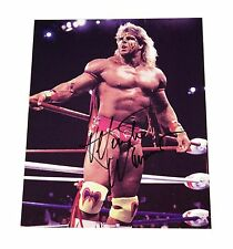 WWE ULTIMATE WARRIOR HAND SIGNED AUTOGRAPHED 8X10 GLOSSY PHOTO WITH COA