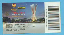 Orig.Ticket  Europa League 12/13  FINALE   BENFICA LISSABON - FC CHELSEA !! TOP