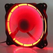 Eclipse Red LED 120mm 12cm Fan DC 60CFM 12V PC Computer Cooler Cooling Fan 12025