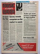 MUSIC & VIDEO WEEK MAGAZINE    APRIL 30 1983   VIDEO EXTRA   LS