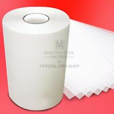 "5 feet x 9.5"" Hotfix Rhinestuds Transfer Film Tape Paper nail art craft studs"