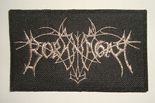 BORKNAGAR - LOGO Embroidered PATCH Enslaved Moonsorrow Emperor Amorphis