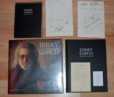 Jerry Garcia The Collected Artwork Hardcover Art Poster Book Set Lt Ed of 1000
