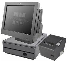 IBM SurePOS 500 Terminal 4846-565 Bundle w/Printer & Cash Drawer, POSReady 2009