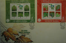 Malaysia FDC with Miniature (07.08.2000) - XXI IUFRO World Congress (B)