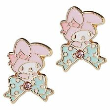 New My melody Earrings Accessory Ribbon SANRIO