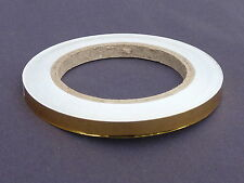 GOLD SOLID 10MM X 20M SELF ADHESIVE PIN STRIPE VINYL TAPE / CAR STYLING ref tp21