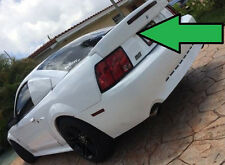 RAW- NO PRIMER COBRA-03 Rear Spoiler-1999-2004 Mustang w/Light & Key Opening