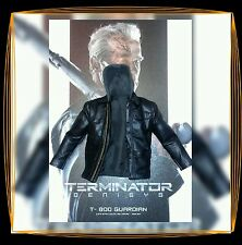 1/6 Hot Toys Terminator Genisys T-800  Black Leather Jacket MMS307 *US Seller*