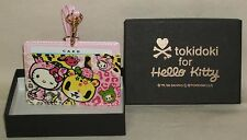 TOKIDOKI x Hello Kitty Neck Strap CARD Case Holder Sanrio 2009 NIB Rare