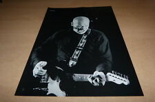 WILKO JOHNSON !!!!!!!!!!!!! MINI POSTER N&B !!!!!!!!!!!!!!!!!!!!