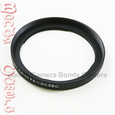 58mm 58 mm Camera Lens Filter Adapter Ring for Canon FA-DC58C PowerShot G1X