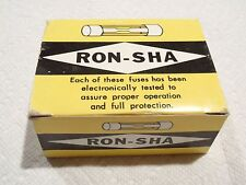 Ron-Sha GMA 0.5 Amp 250V 5mm x 20mm Fast Acting Fuse - Lot of 100