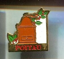 RARE PINS PIN'S .. ALIMENT FOOD CAFE COFFEE MOULIN TORREFACTION POITAU 59 ~CT