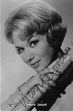 B82784 maria sebaldt  movie star autograph front/back scan
