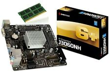 Biostar J3060NH Mini-ITX Motherboard + Compatible RAM Zion 2GB DDR3 1.35V