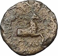 KOLOPHON in IONIA 360BC Apollo Horse Gunuine Authentic Ancient Greek Coin i47848