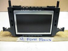 11-12 FORD FOCUS CENTER DASH DISPLAY SCREEN
