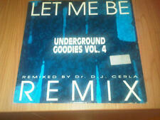 "12"" MIX CAJMERE UNDERGROUND GOODIES VOL.4 PP DIG IT 002  EX-/ VG+ ITALY PS 1993"