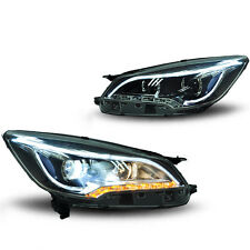 HID Xenon Headlamp Projector Headlights Assembly w DRL for Ford Escape AKA Kuga