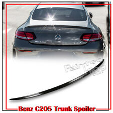 Carbon For Mercedes BENZ C-Class C205 Coupe C350 A Style Trunk Spoiler 2016
