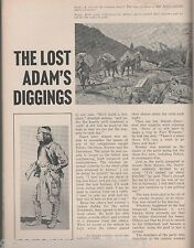 Story of The Lost Adams Diggings of New Mexico+Brewer,Davidson,Dowling,Onate
