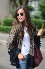 "Zara "" Sold Out "" Sequin Beaded Kimono Jacket Size M BNWT"