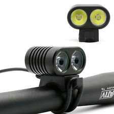 2016 fuerte luz de bicicleta faros 2x cree l2 LED 4400lm bike Bicycle Light