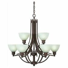 Savoy House Wyngate Tortoise Shell Energy Star 9 Light Chandelier