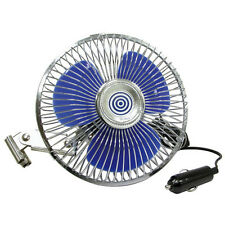 OSCILLATING CAR FAN - VANS CARAVANS BOATS ETC - 12 VOLT