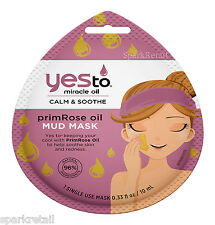 Yes To Miracle Oil Calm & Soothe PRIMROSE OIL Single Use Mud Mask 10ml