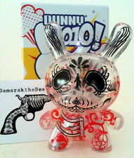"DUNNY 3"" 2010 SERIES DAMARAK THE DESTROYER CLEAR 2/25 KIDROBOT 2010 VINYL TOY"
